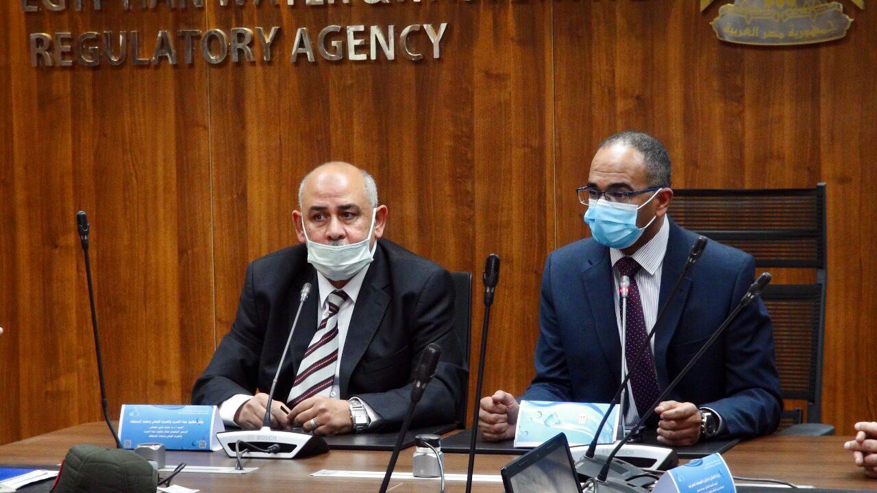 اجتماع مناقشة إجراءات الأستخدام الامثل لمياه محطات معالجة الصرف الصحي التي تقوم بالصرف على الغابات الشجرية الأخوار الجبلية